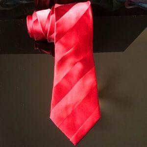 "Donald Trump signature edition silk tie red ""A"""